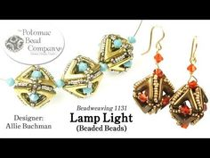 Lamp Light Beaded Beads (Tutorial) - YouTube, supplies from Potomac Bead Company (www.potomacbeads.com)