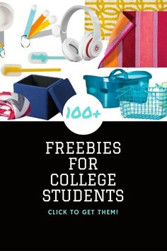 100+ Freebies for College Students, this is an awesome list -->