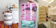 Is your home overwhelmed with clutter? Here are 20 easy sewing projects to help you wrangle the mess.