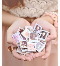 """Your day just got better with this tip: """"Diy Mini Polaroid Magnets ❤️"""""""