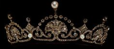 The Lotus Flower Tiara. Given to Princess Margaret by her mother.  Margaret lent it to her daughter-in-law to wear at her wedding, and it seems the tiara is still in the posession of her family since it was not sold with other jewelry upon Margaret's death.  Good!