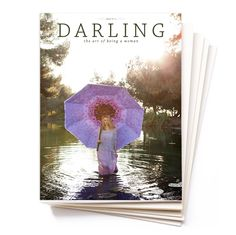 Spring has Sprung: Issue No. 3 now for pre sale!!   Darling Magazine