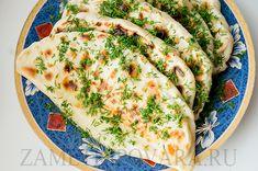Azerbaijan Qutab with cheese.  Кутабы с брынзой
