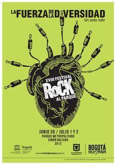 VADER • Parque Simón Bolívar [Rock Al Parque] - Bogotá, Colombia (30/JUN/2012)