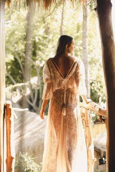Island Tribe Ready to Wear collection Photography Boho Wedding Dress, Boho Dress, Bohemian White Dress, Wedding Dresses, Goddess Dress, Ethical Fashion Brands, Moda Boho, Hippie Dresses, Bohemian Dresses