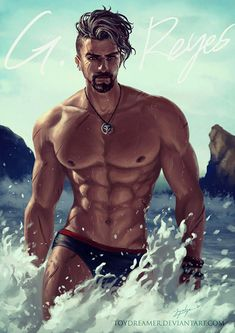 Summer-watch: Baberiel Reyes by on Anime Sexy, Character Inspiration, Character Art, Overwatch Reaper, Gay Comics, Cartoon Man, Pride Shirts, Hommes Sexy, Bear Art