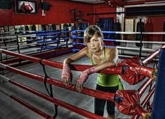 boxer girl | Flickr - Photo Sharing!