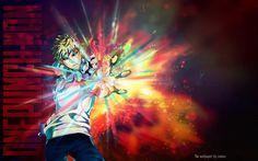 Wallpaper sur Genos de la serie One Punch-Man - Camua Créa-passion Saitama, One Punch Man, Naruto, One Punch