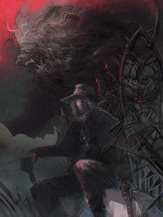 Art of Dark Souls Bloodborne Art, Game Art, Dark Souls, Dark Fantasy, Soul Game, Video Game Art, Creatures Of The Night, Dark Art, Dark
