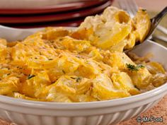 Around our Test Kitchen, we think everything tastes better with a bit of cheese! Of course, when it comes to lighter recipes, we turn to reduced-fat cheese varieties to add that creamy goodness! That's just what you'll find in our Golden Squash Casserole, so go ahead and dig in.