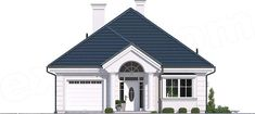 Projekt Dom na parkowej 7 B 151,65 m2 - koszt budowy 213 tys. zł - EXTRADOM Home Fashion, Gazebo, Outdoor Structures, Mansions, House Styles, Beautiful, Home Decor, Home Plans, Homes