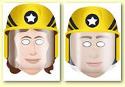 Fire Station Role Play Resources - Firefighter Role Play Masks