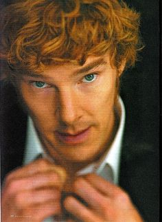 This guy plays in one of my fav shows Sherlock!! Such beautiful eyes