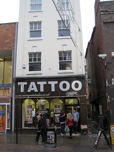Tattoo Shop, Gloucester
