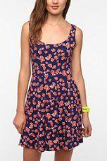 Sparkle & Fade Knit Printed Circle Dress