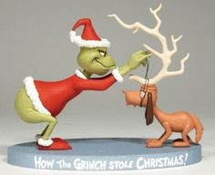 Santa Grinch & Reindeer Max Mini-Figure Exclusive Set by McFarlane Toys How the Grinch Stole Christmas Grinch Toys, Le Grinch, Grinch Cake, The Grinch Movie, Grinch Stuff, Whoville Christmas, Grinch Stole Christmas, Christmas Holidays, Christmas Crafts
