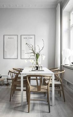 Stylish home in grey - via Coco Lapine Design