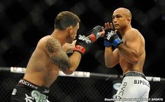 BJ Penn Retires After TUF 19 Loss; Edgar Makes Case For Title Shot (Recap)- http://getmybuzzup.com/wp-content/uploads/2014/07/328157-thumb.jpg- http://getmybuzzup.com/bj-penn-retires/- Edgar Makes Case For Title Shot By Kel Dansby Frankie Edgar came into tonight's fight with everything to gain but also the most to lose. He fought with that chip on his shoulder and never allowed the 'Prodigy' BJ Penn to attack him. Frankie landed takedowns in both of the early r.