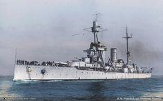 HSwMS Drottning Victoria was a Sverige-class coastal defence ship (Pansarskepp) of the Swedish Navy. Swedish Navy, Soviet Navy, Heavy Cruiser, Man Of War, Naval History, Navy Ships, Submarines, Historical Pictures, Royal Navy