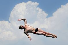 Matthieu Rosset from France competes in the Men's 1m Springboard Diving final on day three of the 15th FINA World Championships in Barcelona, 2013.