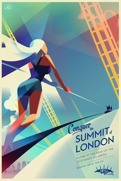 Mads Berg and VCCP for Up at The O2: Conquer the Summit of London