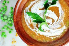 Cícer na paprike Chia Puding, Tofu, Hummus, Vegan, Ethnic Recipes, Fitness, Bulgur, Vegans