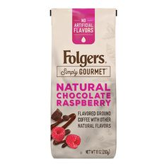 Natural Chocolate Raspberry � Folgers Coffee