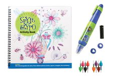 Spyro Gyro Activity Book and thousands more of the very best toys at Fat Brain Toys. Spyro Gyro is a motorized pen invented as an artistic drawing tool. The activity book includes instructions and hints on how to use the Spyro. Little Girl Gifts, Ink Color, Kids Christmas, Christmas 2016, Book Activities, Pattern Making, Cool Toys, Stocking Stuffers, Holiday Gifts