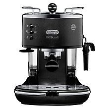 Buy De'Longhi Icona Micalite Espresso Coffee Machine, Black Online at…
