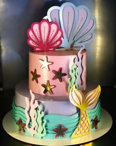 1 million+ Stunning Free Images to Use Anywhere Mermaid Birthday Cakes, Mermaid Cakes, Birthday Cake Girls, Diy Cake Topper, Cake Toppers, Sirenita Cake, Bolo Tumblr, Cake Background, Ocean Cakes