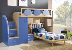 Loft Beds for Kids | Sizes, Shapes, Colors, and Themes -  boys loft bed