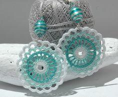 Crochet earring ispiration