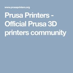 15 Best Prusa images | Printer, Software, User guide
