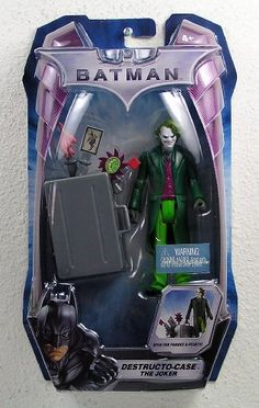 Batman The Dark Knight Destructo-Case Joker 6 Inch Scale Action Figure @ niftywarehouse.com #NiftyWarehouse #Batman #DC #Comics #ComicBooks