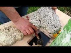 Fabrication de fausse pierre wmv - YouTube