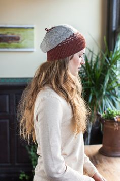 Altair hat from Brooklyn Tweed