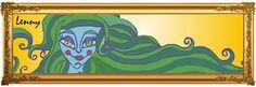 Mulher de Cabelo Verde.