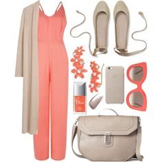 Jumpsuit! by sanela-enter on Polyvore featuring мода, MANGO, New Look, Kate Spade, CÉLINE and Yves Saint Laurent