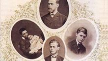Alfred Nobel and his family