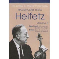 The Heifetz Masterclass Series Volume 8