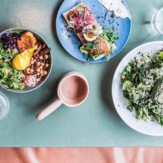 Likes, 85 Comments - Local Milk Breakfast Crockpot Recipes, Vegetarian Breakfast Recipes, Brunch Recipes, Breakfast Healthy, Healthy Recipes, Breakfast Cafe, Modern Food, Rainbow Food, Food Styling