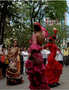 Flamenco street dance