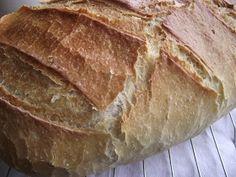 Tanulj meg sütni!: Ropogós héjú, kovászolt kenyér My Recipes, Food And Drink, Bread, Brot, Baking, Breads, Buns