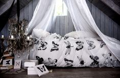 H&M HOME BEDS|| ::perfect spot for daydreaming