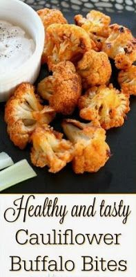 Cauliflower Buffalo Bites - Kathy Carrie Recipes
