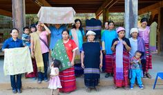 Meet our #women #artisans from Baan Mae See Pee North and South Thai villages who are among the creators of WEAVE #beautiful #handicrafts