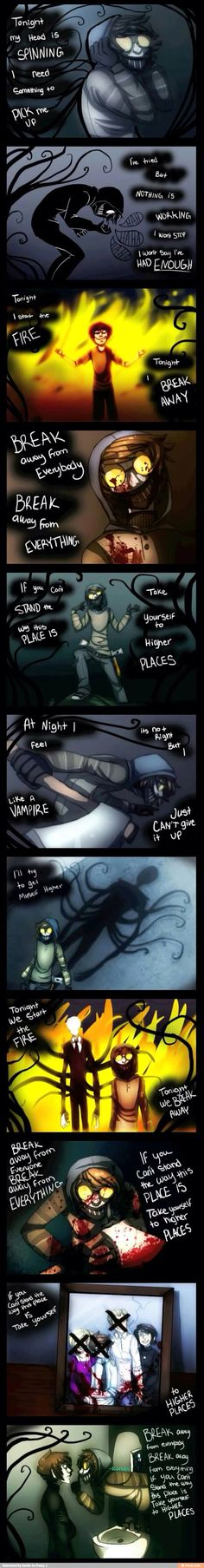 Three days grace and creepypasta  my two favorite things
