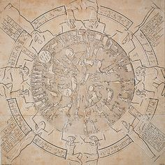 The Dendera zodiac was found on the roof of the Temple of Hathor.This zodiac shows the constellations from ancient times. This helped date the constrution of the Temple of Hathor. This zodiac was worth alot of money because of how old it is.