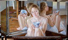 Por Amor al Arte: Las impresionantes pinturas de Francine Van Hove.