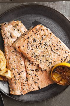 Honey Sesame Side of Salmon Recipe - JoyOfKosher.com
